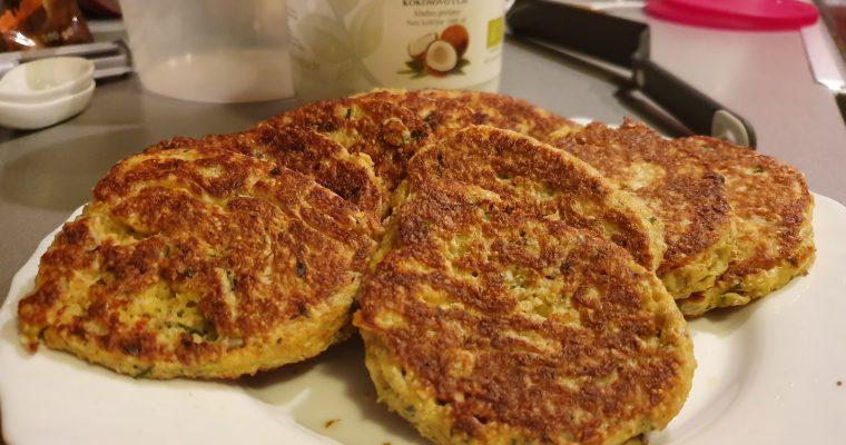Pogačice od svježeg sira i zobenih mekinja