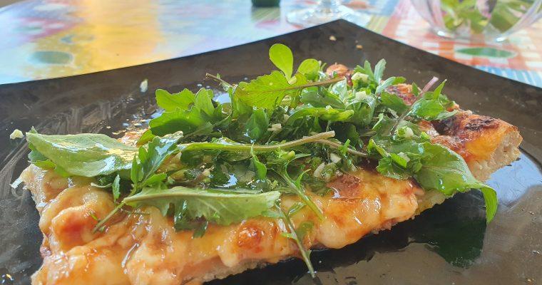 Pizza s lignjama